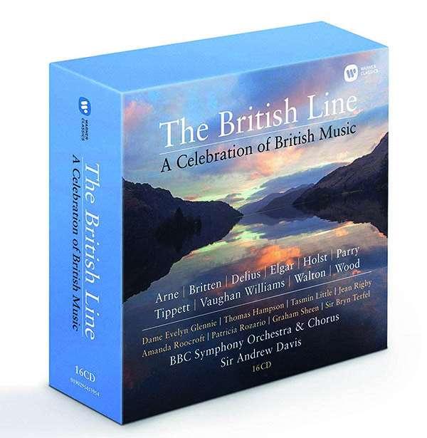 CD ANDREW, DAVIS & BBC SYMPHONY ORCHESTRA - THE BRITISH LINE: A CELEBRATION OF BRITISH MUSIC
