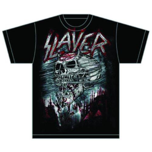 Slayer - Tričko Demon Storm - Muž, Unisex, Čierna, XL