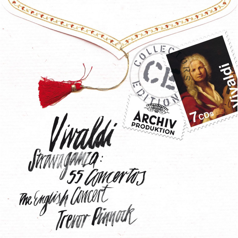 CD PINNOCK/EC - Vivaldi: Stravaganza - 55 koncertů