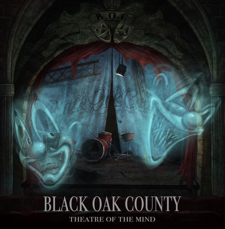 Vinyl BLACK OAK COUNTY - THEATRE OF THE MIND