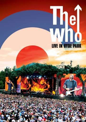 DVD WHO THE - LIVE AT HYDE PARK
