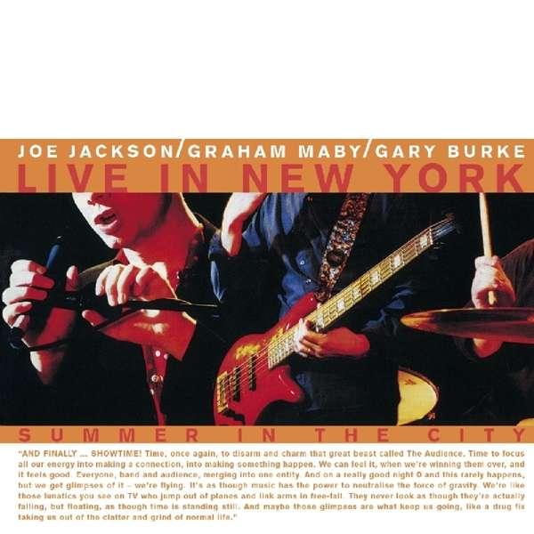 CD JACKSON, JOE - SUMMER IN THE CITY/LIVE IN NEW YORK