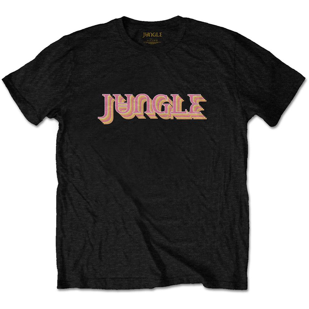 Jungle - Tričko Colour Logo - Muž, Unisex, Čierna, L