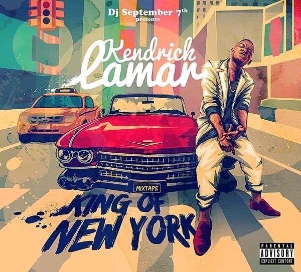 CD LAMAR, KENDRICK & DJ SEPT - MIXTAPE-KING OF NEW YORK