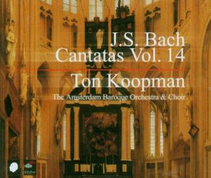 CD BACH, J.S. - COMPLETE BACH CANTATAS 14