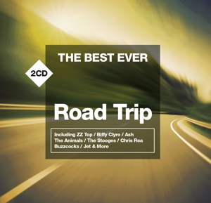 CD VARIOUS ARTISTS - THE BEST EVER ROAD TRIP