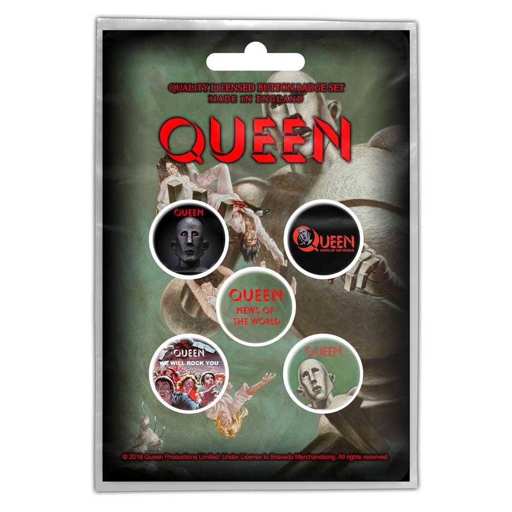 Queen - Odznak News of the World