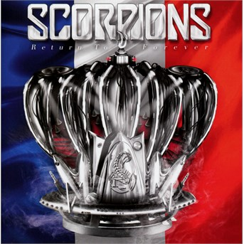 Scorpions - CD Return to Forever (France Tour