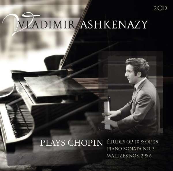 CD ASHKENAZY, VLADIMIR - VLADIMIR ASHKENAZY PLAYS CHOPIN