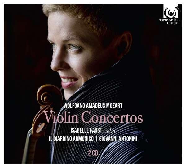 CD MOZART, W.A. - VIOLIN CONCERTOS