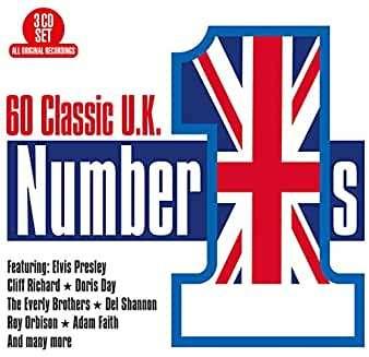 CD V/A - 60 CLASSIC UK NUMBER 1'S