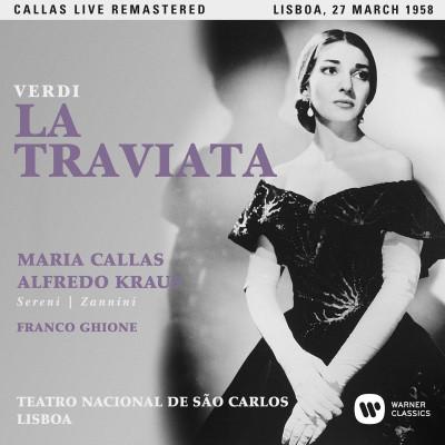 CD CALLAS, MARIA - VERDI: LA TRAVIATA (LISBOA, 27/03/1958)