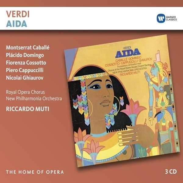 CD MUTI, RICCARDO/MONTSERRAT CABALLE - VERDI: AIDA