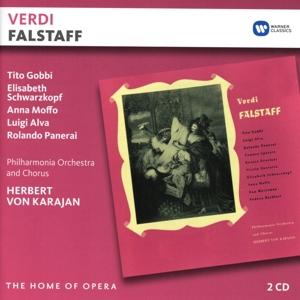 CD KARAJAN/PHILHARMONIA/GOBBI/SCHWARZKOPF/MOFFO/ALVA/PANERAI - VERDI: FALSTAFF