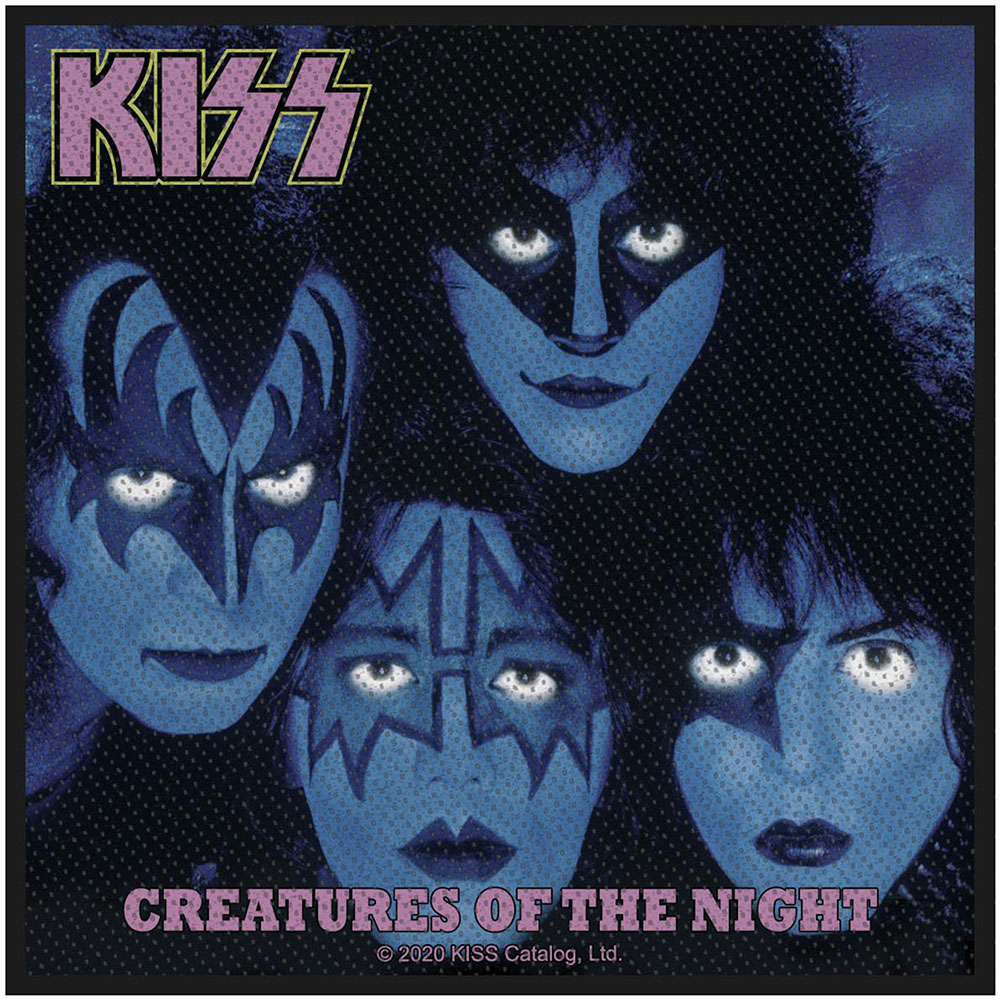 Kiss - Nažehlovačka Creatures of the Night