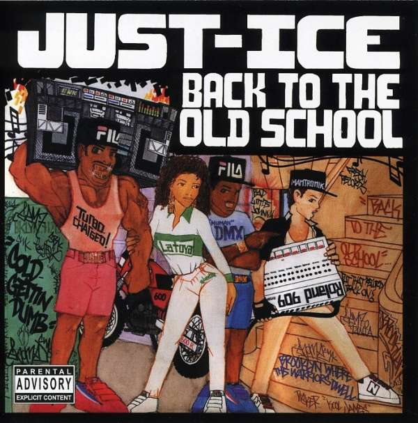 CD JUST ICE - BACK TO THE OLD SCHOOL
