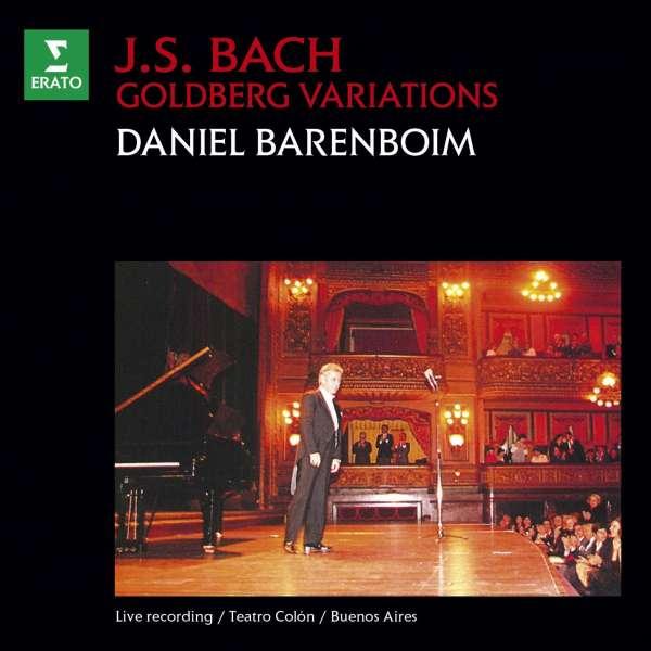 CD BARENBOIM, DANIEL - BACH: GOLDBERG VARIATIONS