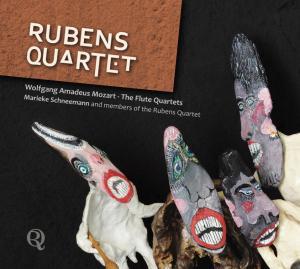 CD MOZART, W.A. - FLUTE QUARTETS
