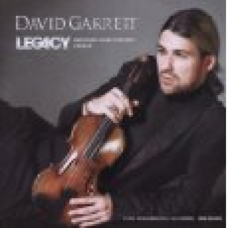 CD GARRETT DAVID - LEGACY
