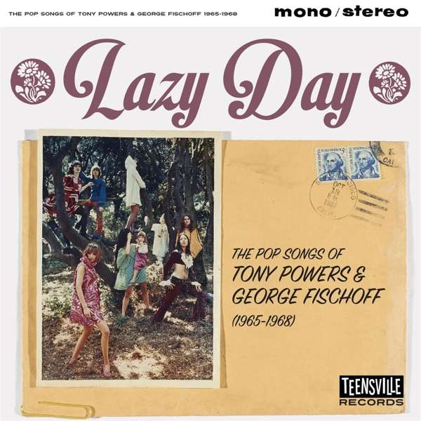 CD V/A - LAZY DAY (THE POP SONGS OF TONY POWERS & GEORGE FISCHOFF 1965-1968)