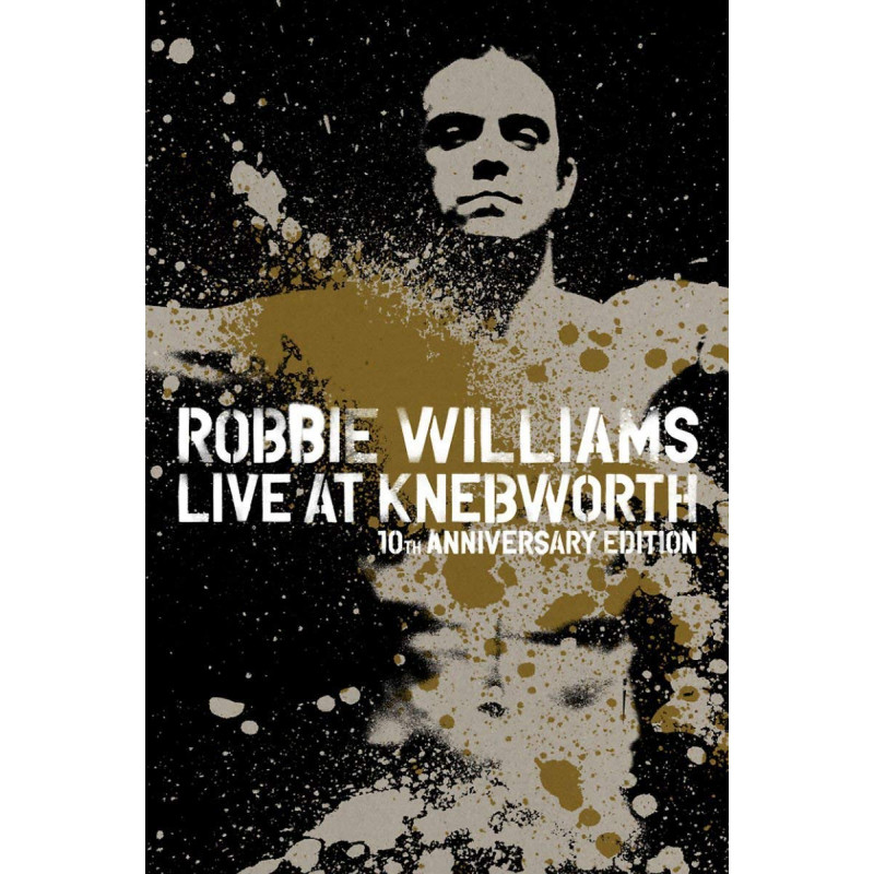 DVD WILLIAMS ROBBIE - ROBBIE WILLIAMS LIVE