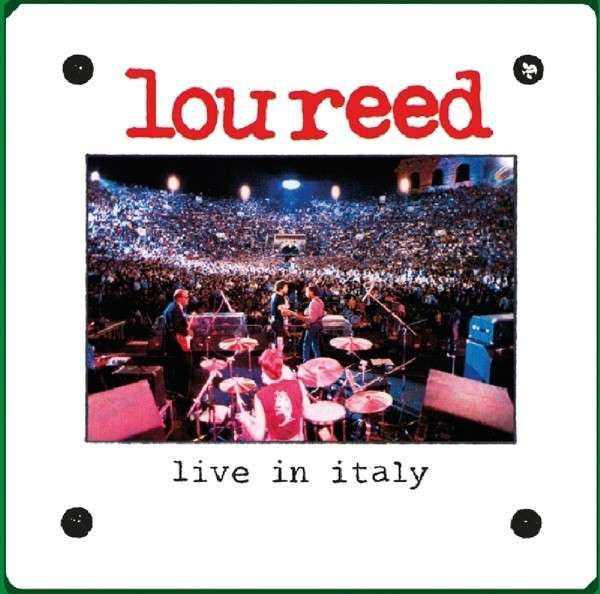 Lou Reed - CD LIVE IN ITALY