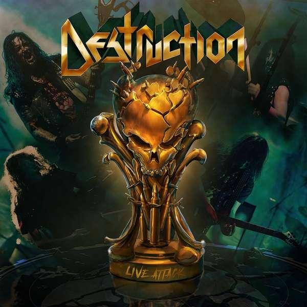 Destruction - CD LIVE ATTACK