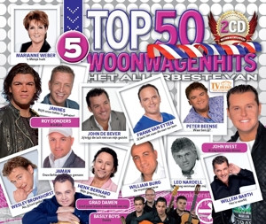 CD V/A - WOONWAGENHITS TOP 50 5
