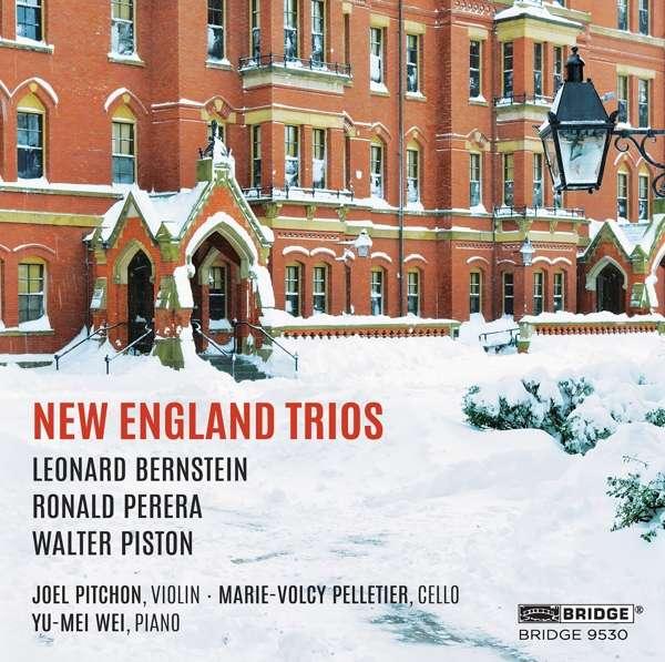 CD PITCHON, JOEL - NEW ENGLAND TRIOS