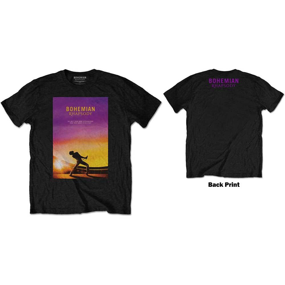 Queen - Tričko Bohemian Rhapsody - Muž, Unisex, Čierna, S