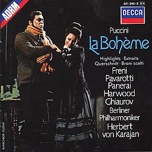 CD KARAJAN/BPH - BOHEMA-VYBER