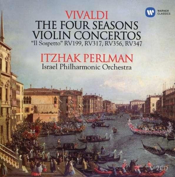 CD PERLMAN/ISRAEL PHILHARMONIC ORCHESTRA - VIVALDI: VIOLIN CONCERTOS, FOUR SEASONS