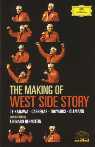 DVD BERNSTEIN LEONARD - MAKING OF WEST SIDE STORY
