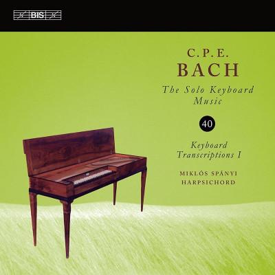 CD SPANYI, MIKLOS - C.P.E. BACH: SOLO KEYBOARD MUSIC VOL.40