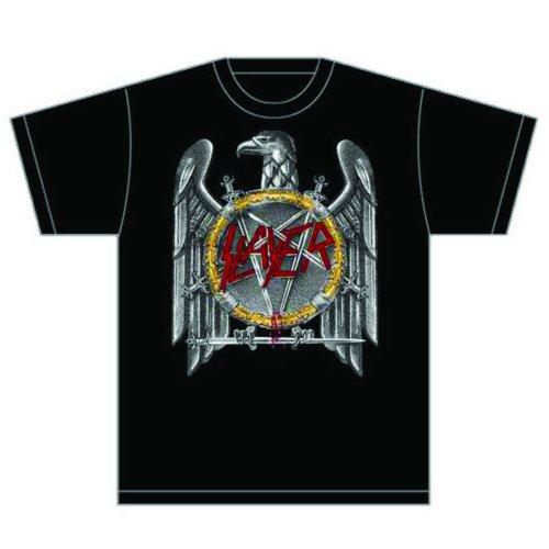 Slayer - Tričko Silver Eagle - Muž, Unisex, Čierna, XXL