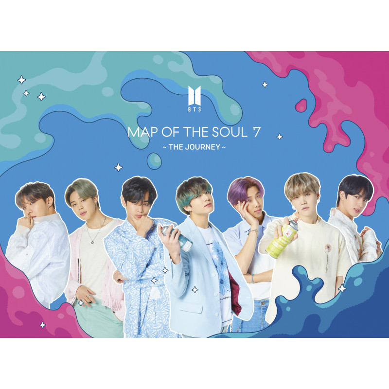 BTS - CD MAP OF THE SOUL 7 ~ THE JOURNEY ~