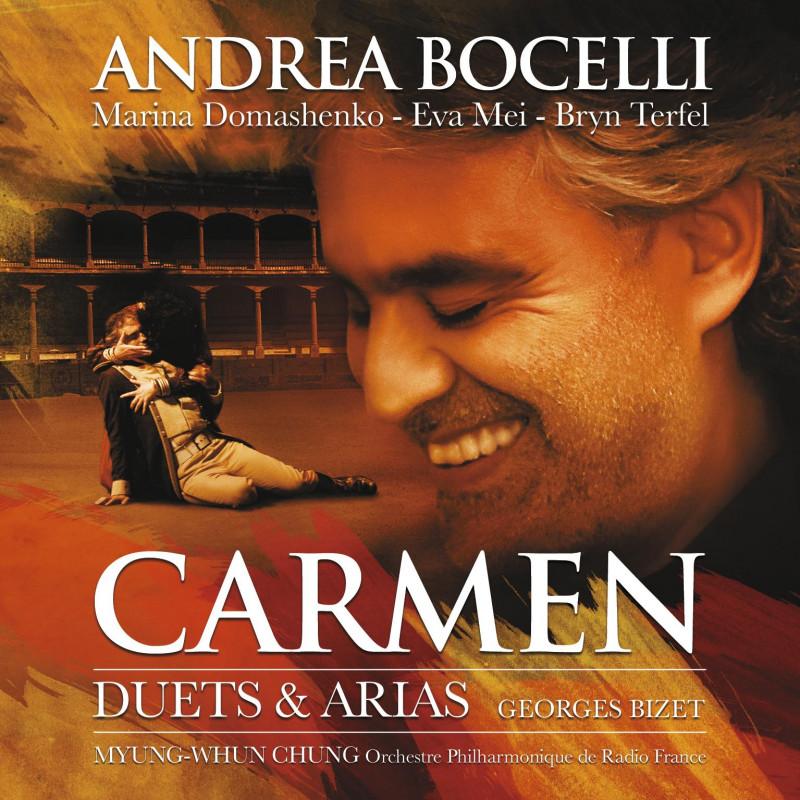 ANDREA BOCELLI - CD BIZET: CARMEN - THE ARIAS