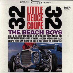 The Beach Boys - CD LITTLE DEUCE COUPE/ALL SUM
