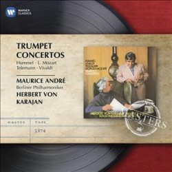 CD ANDRE, MAURICE - TRUMPET CONCERTOS