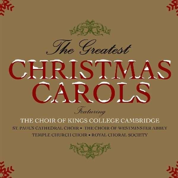 CD V/A - GREATEST CHRISTMAS CAROLS