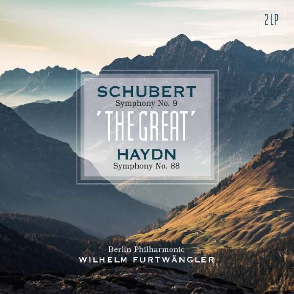 Vinyl SCHUBERT/HAYDN - SYMPHONY NO. 9/SYMPHONY NO. 88