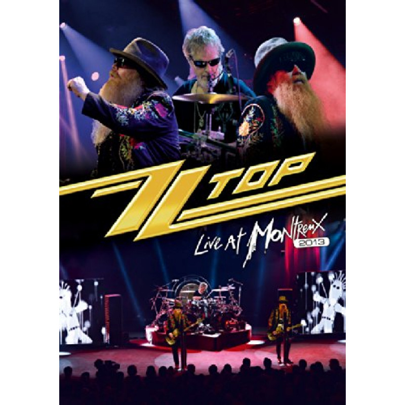ZZ Top - Blu-ray LIVE AT MONTREUX 2013