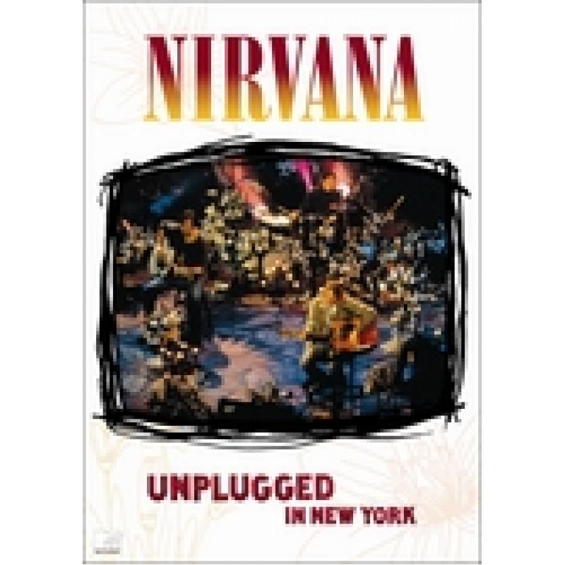 Nirvana - DVD UNPLUGGED IN NEW YORK