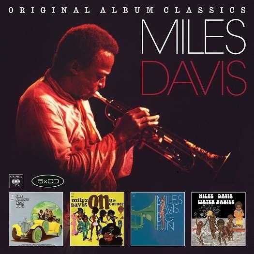 Miles Davis - CD ORIGINAL ALBUM CLASSICS