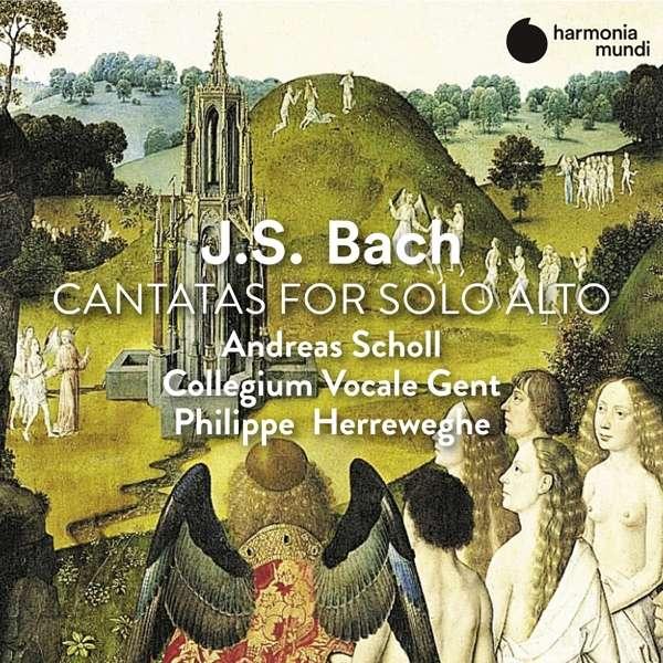 CD BACH, J.S. - CANTATAS FOR SOLO ALTO