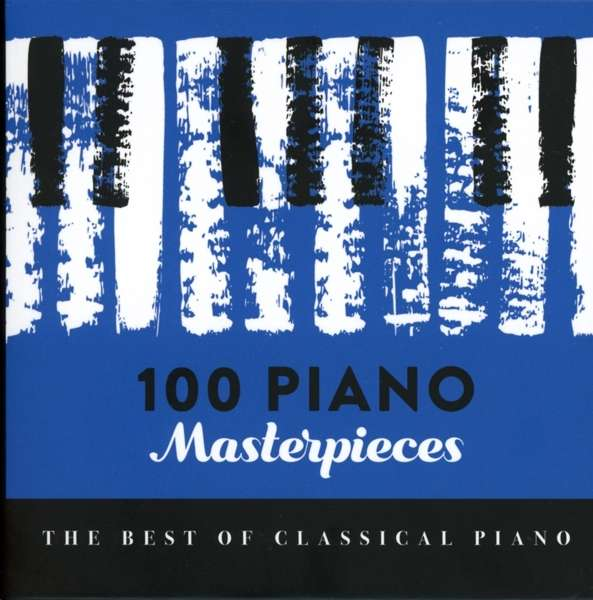 CD V/A - 100 PIANO MASTERPIECES