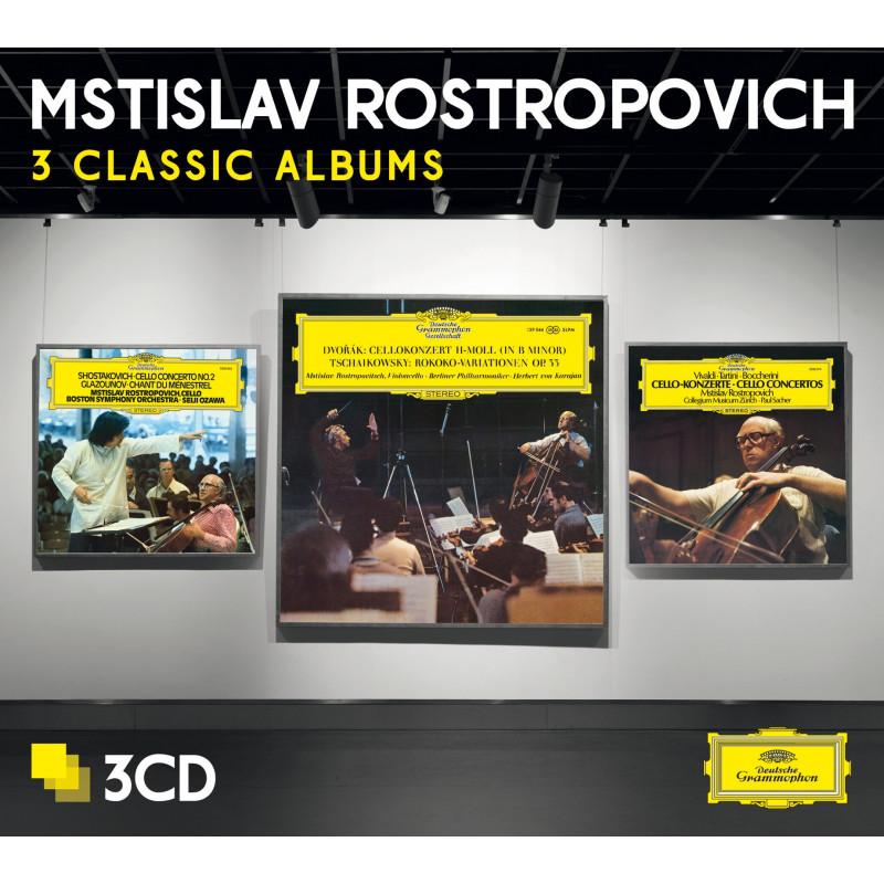 CD ROSTROPOVIC MSTILAV - DVORAK/VIVALDI/SOSTAKOVIC