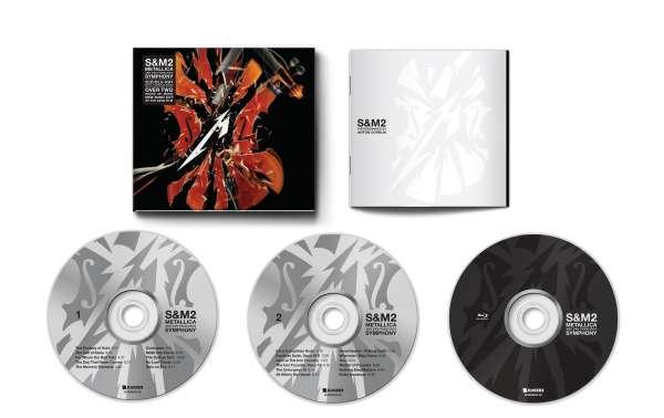 Metallica - Blu-ray S&M2/CD