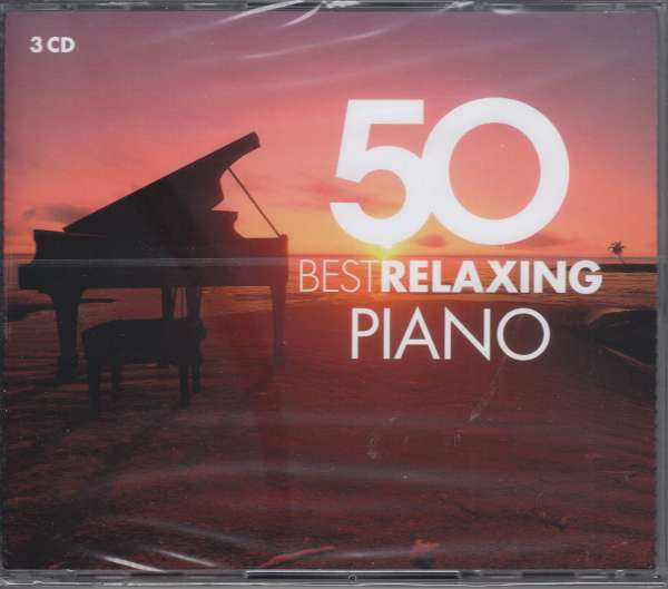 CD VARIOUS ARTISTS - 50 BEST RELAXING PIANO