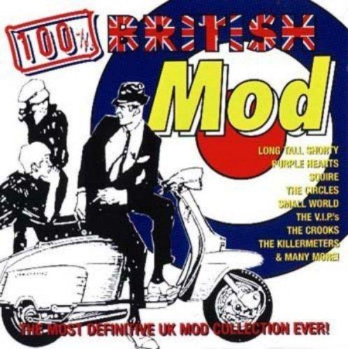 CD V/A - 100 % BRITISH MOD